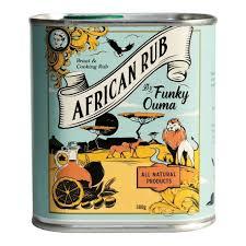 Funky Ouma African Braai & Cooking Rub